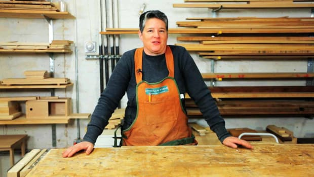 ZE. How to Do Woodworking with Robyn Mierzwa Promo Image