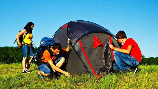 E. How to Pick a Camping Tent Promo Image