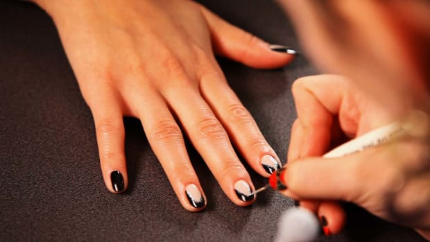 C. How to Do an Unzipped Zipper Nail Design Promo Image