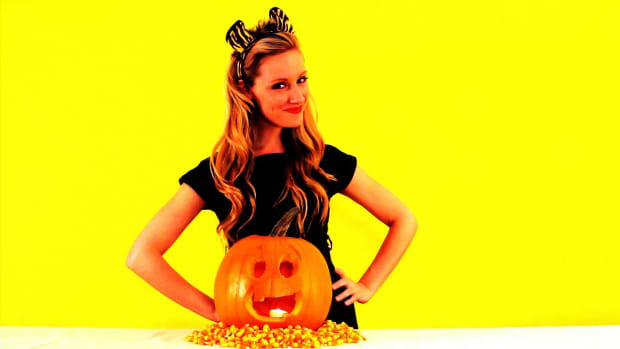 M. Quick Tips: How to Keep a Carved Pumpkin Fresh Promo Image