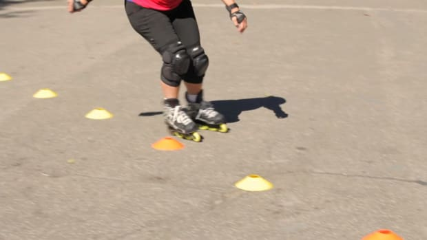 ZI. How to Slalom on Rollerblades Promo Image