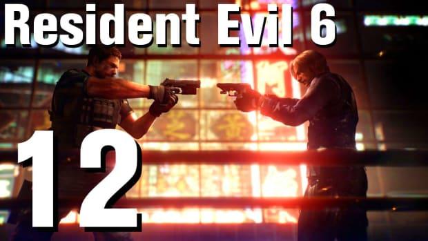 L. Resident Evil 6 Walkthrough Part 12 - Chapter 1 Promo Image