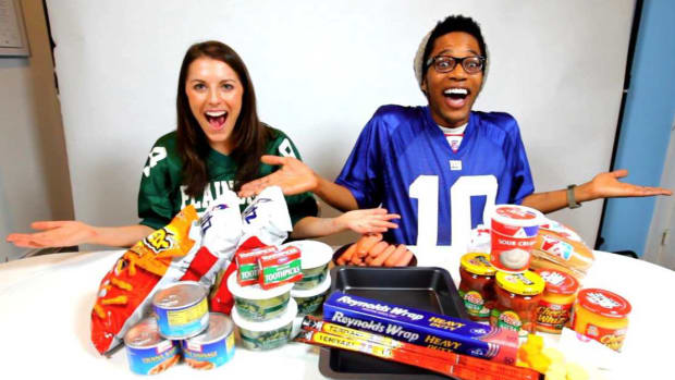 H. How to Make the Ultimate Football Stadium Out of Party Food Promo Image