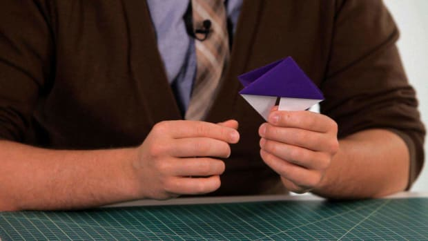 T. How to Make an Origami Bookmark Promo Image