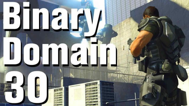 ZD. Binary Domain Walkthrough Part 30 - Underground Parking Lot Promo Image