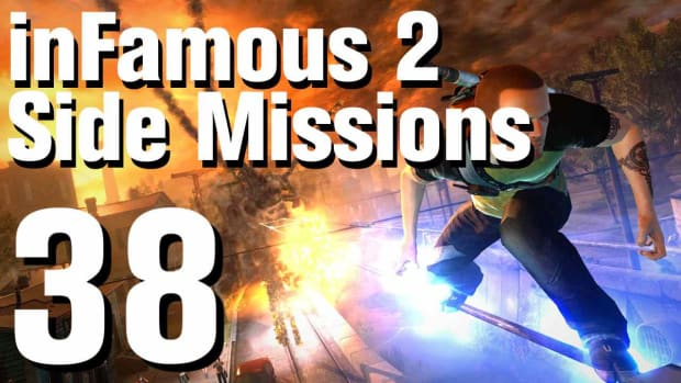 ZZZF. inFamous 2 Walkthrough Side Missions Part 38: Overcharge - Flood Town Promo Image