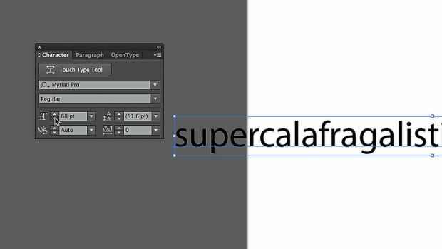 ZI. How to Resize Type Objects with Adobe Illustrator Promo Image