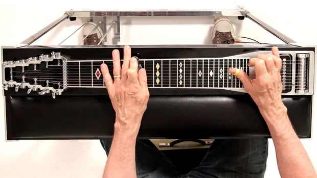 ZK. How to Play Minor Scales on a Pedal Steel Guitar Promo Image