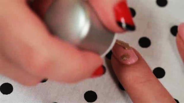 How To Create A Strawberry Nail Art Design Howcast The Best How