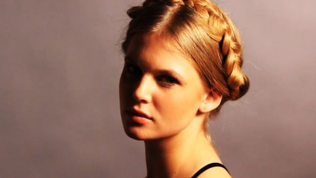 T. Good Braid Styles for a Wedding Promo Image