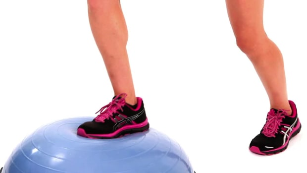 ZD. How to Do Cross Country Switch Jumps with a Bosu Ball Promo Image