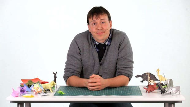 ZO. How to Make Origami with Ben Friesen Promo Image