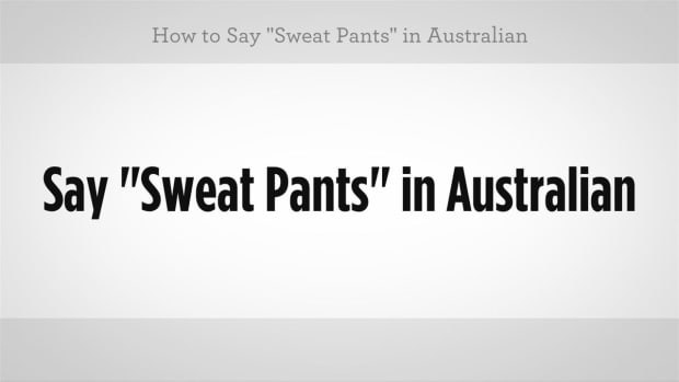 "ZN. How to Say ""Sweatpants"" in Australian Slang Promo Image"