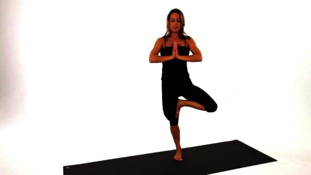 Z. How to Do a Tree Yoga Pose (Vrksasana) Promo Image