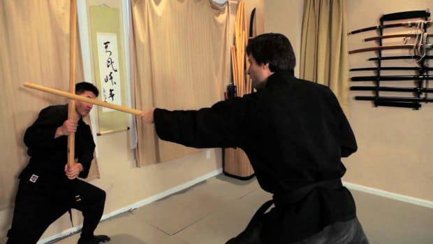 ZY. How to Do Goho from Bojutsu Training in Ninjutsu Promo Image