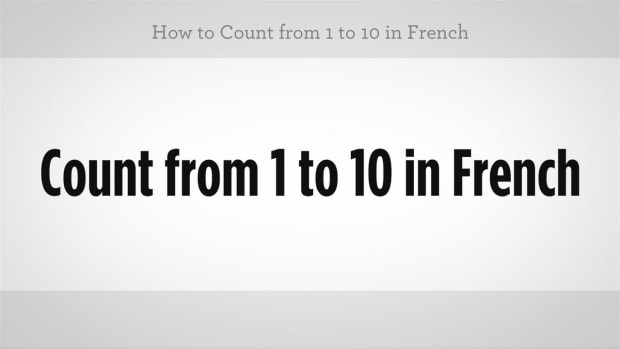 ZK. How to Count from 1 to 10 in French Promo Image