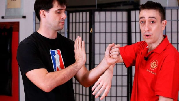 W. How to Do a Bong Sau aka Wing Hand in Wing Chun Promo Image