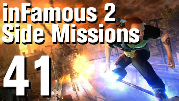 ZZZI. inFamous 2 Walkthrough Side Missions Part 41: Emergency Measures Promo Image