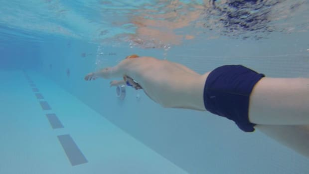 B. 3 Swimming Drills to Improve Freestyle Stroke Promo Image
