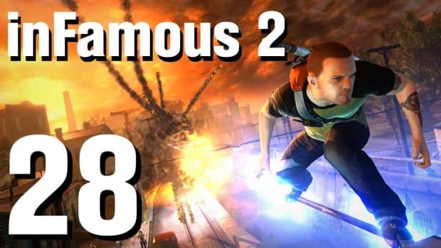 ZB. inFamous 2 Walkthrough Part 28: Burning Wells Promo Image