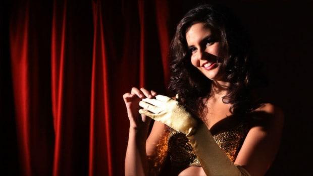 K. Reveal & Peel Techniques in Burlesque Dance Promo Image