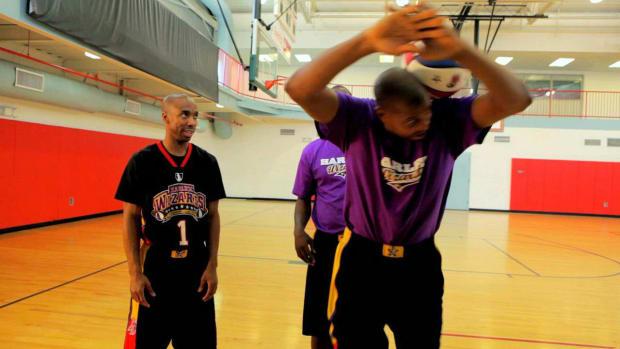 ZZR. How to Do a Diamond Cutter Basketball Trick Promo Image