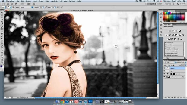 U. How to Add Color to Details in Photoshop Promo Image