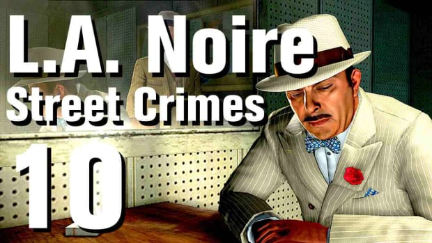 "J. L.A. Noire Walkthrough Street Crimes 10: ""Hotel Bandits"" Promo Image"
