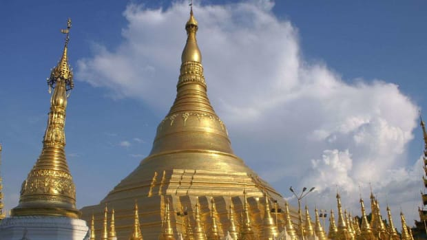 D. Visiting the Shwedagon Pagoda in Yangon Promo Image