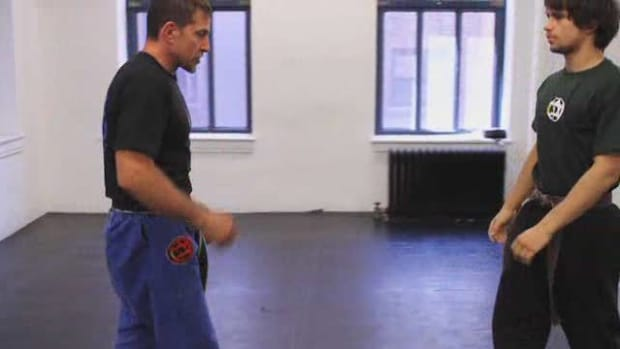 G. How to Defend against a Krav Maga Head Lock from the Side Promo Image