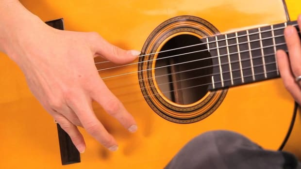 M. Flamenco Guitar Techniques: How to Play Golpe Promo Image