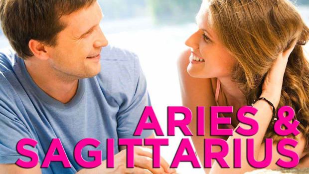 ZG. Are Aries & Sagittarius Compatible? Promo Image