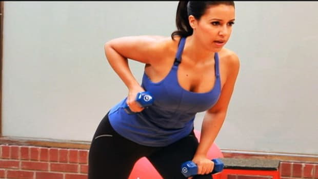 G. How to Do a Bent-Over Row for Female Strength Training Promo Image