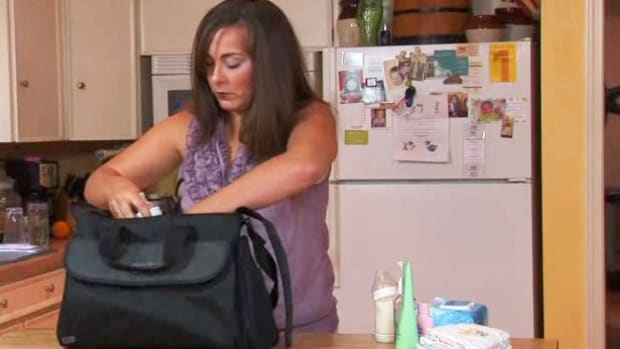 F. How to Pick a Diaper Bag Promo Image
