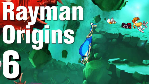 F. Rayman Origins Walkthrough 1-6: Over the Rainbow Promo Image