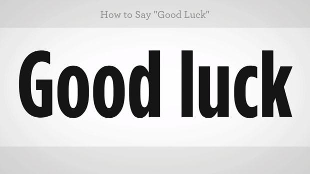 "ZZP. How to Say ""Good Luck"" in Mandarin Chinese Promo Image"