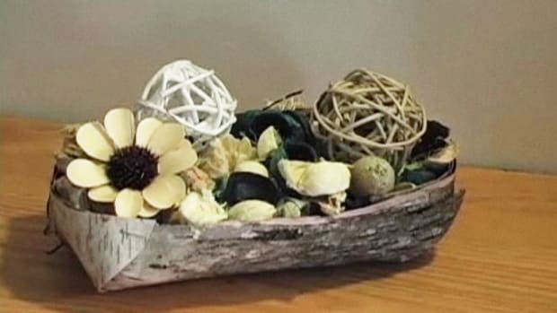 O. How to Make a Birch Bark Basket Promo Image
