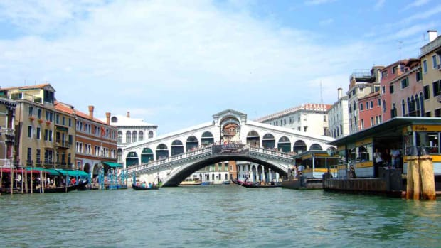 H. Visiting the Rialto in Venice Promo Image