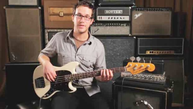 ZZ. How to Play a Minor Pentatonic Scale on Bass Guitar Promo Image