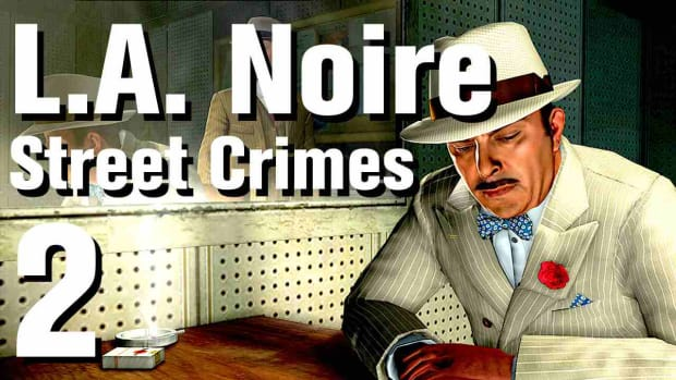 "B. L.A. Noire Walkthrough Street Crimes 02: ""Cosmic Rays"" Promo Image"