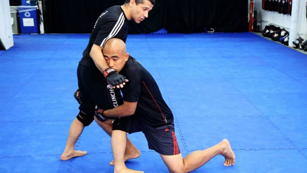 Y. How to Do Countering Double & Sprawl Takedown Defense in MMA Promo Image