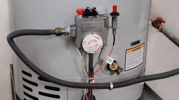 O. How to Replace a Relief Valve on a Hot Water Heater Promo Image
