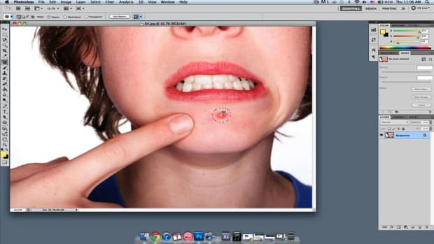 G. How to Get Rid of Acne in Photoshop Promo Image