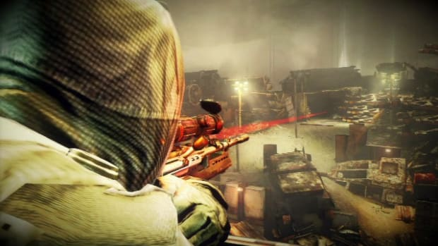 L. Killzone 3 Walkthrough / Scrapyard Shortcut - Part 2: Fenced In Promo Image