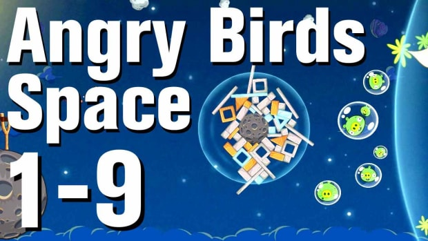 I. Angry Birds: Space Walkthrough Level 1-9 Promo Image