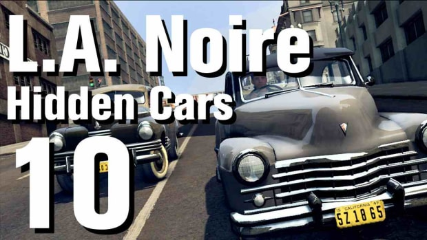 "J. L.A. Noire Walkthrough Hidden Cars 10: ""Phantom Corsair"" Promo Image"