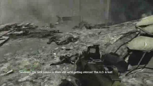 Y. Modern Warfare 3 Walkthrough - Scorched Earth (2 of 2) Promo Image