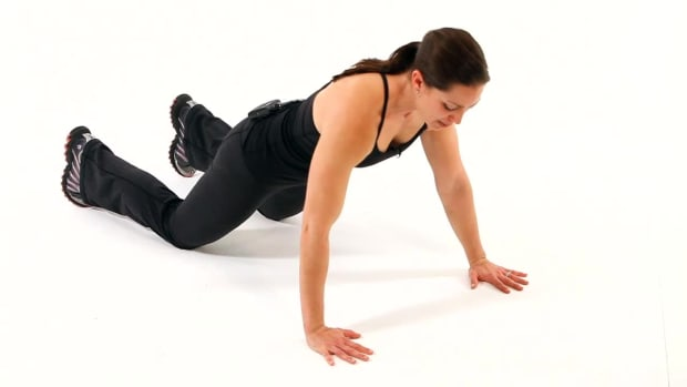 F. How to Do a Push-Up for a Boot Camp Workout Promo Image