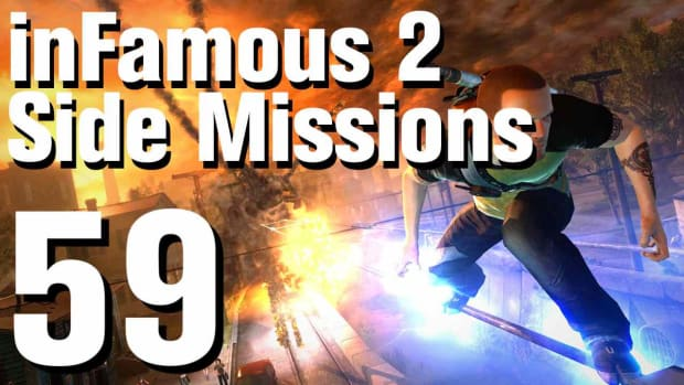ZZZY. inFamous 2 Walkthrough Side Missions Part 59: The Gauntlet Promo Image