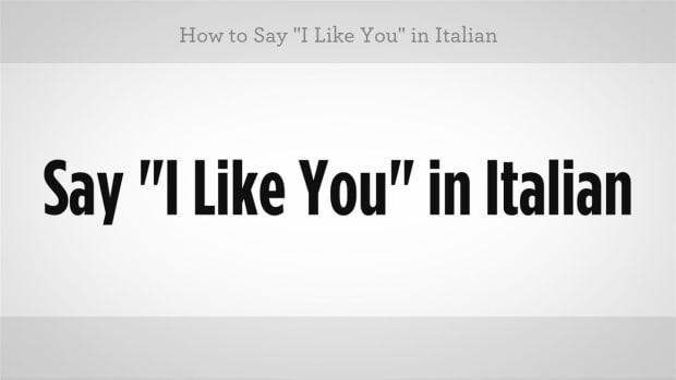 """H. How to Say """"I Like You"""" in Italian Promo Image"""